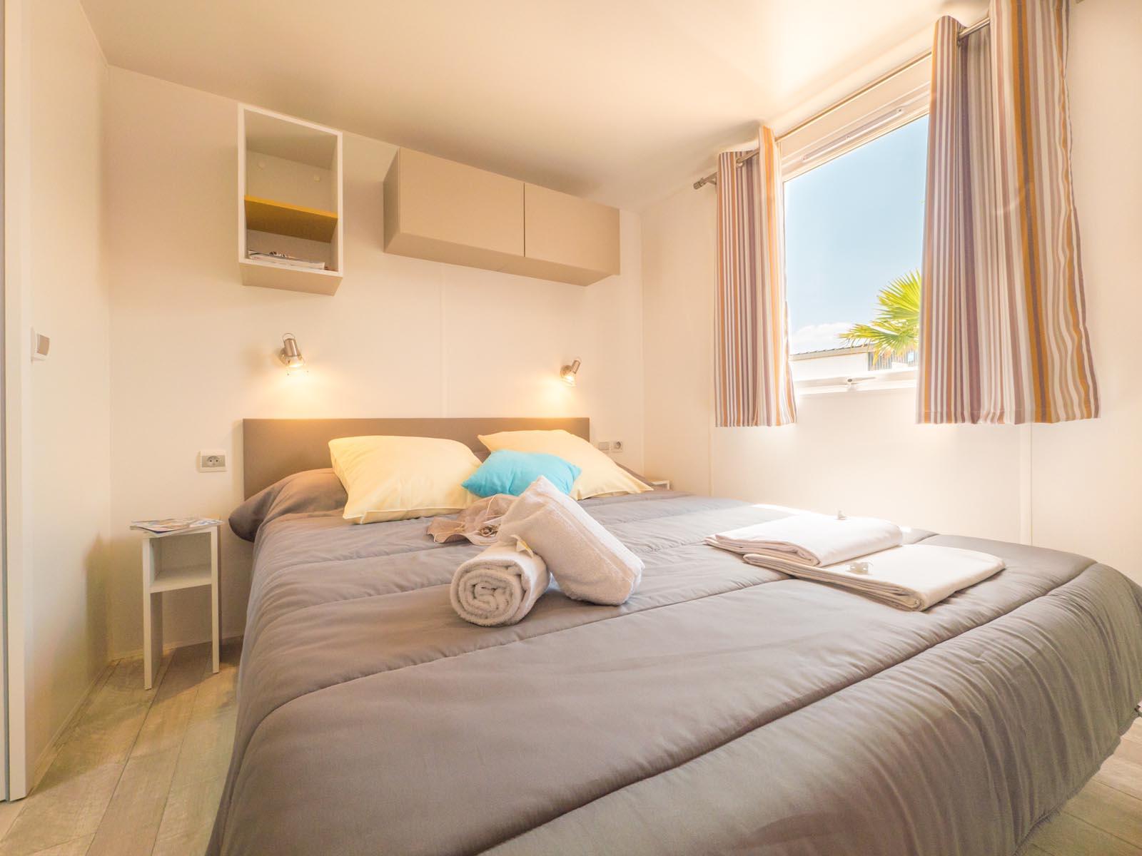 Chambre double dans cottage premium