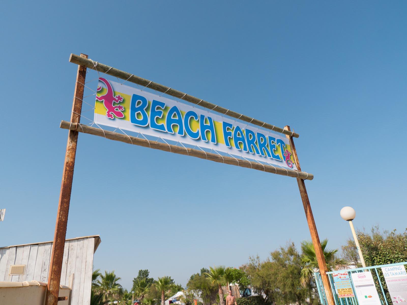 Panneau Beach Farret