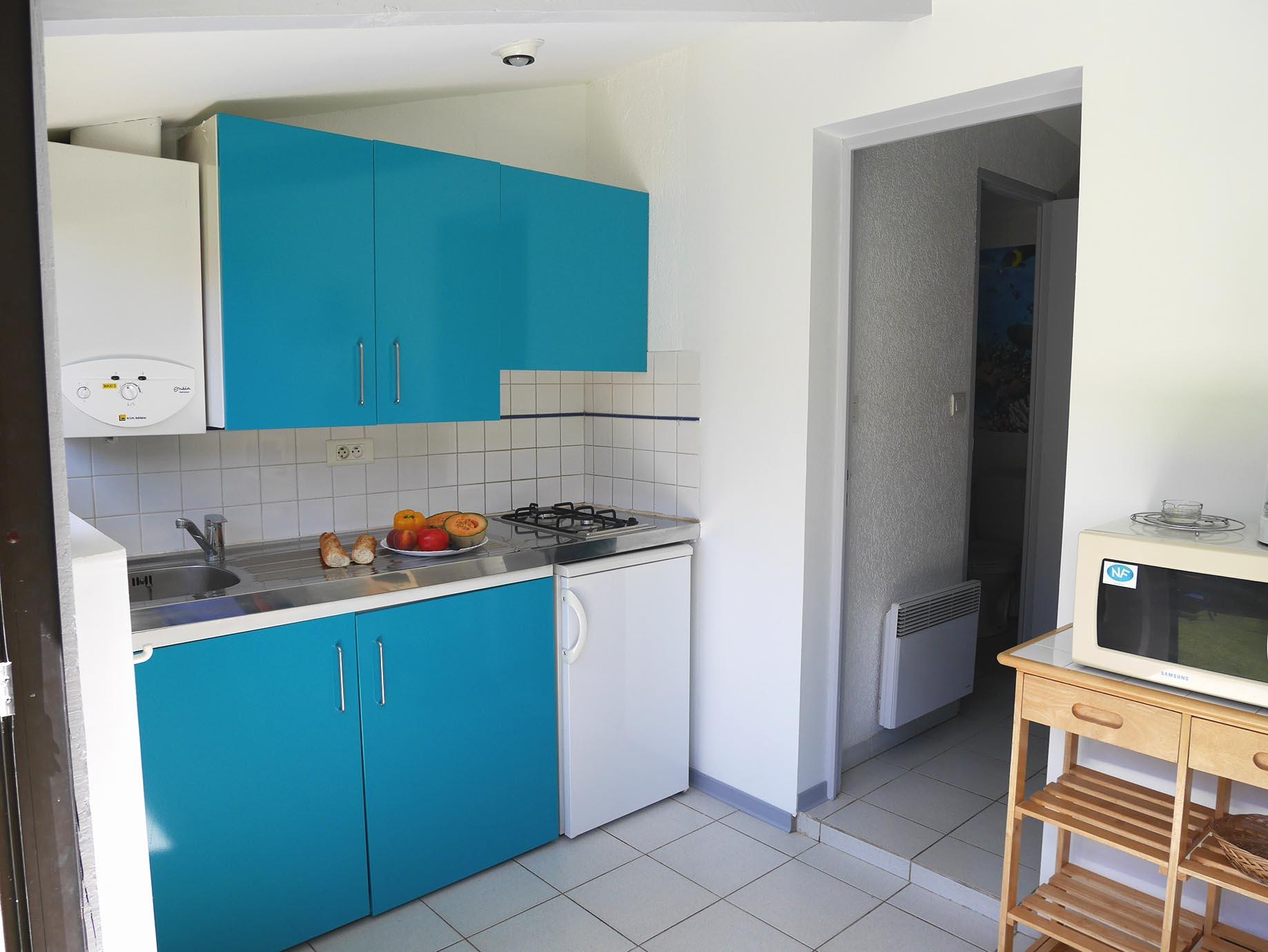 cuisine bleue couleur pep's
