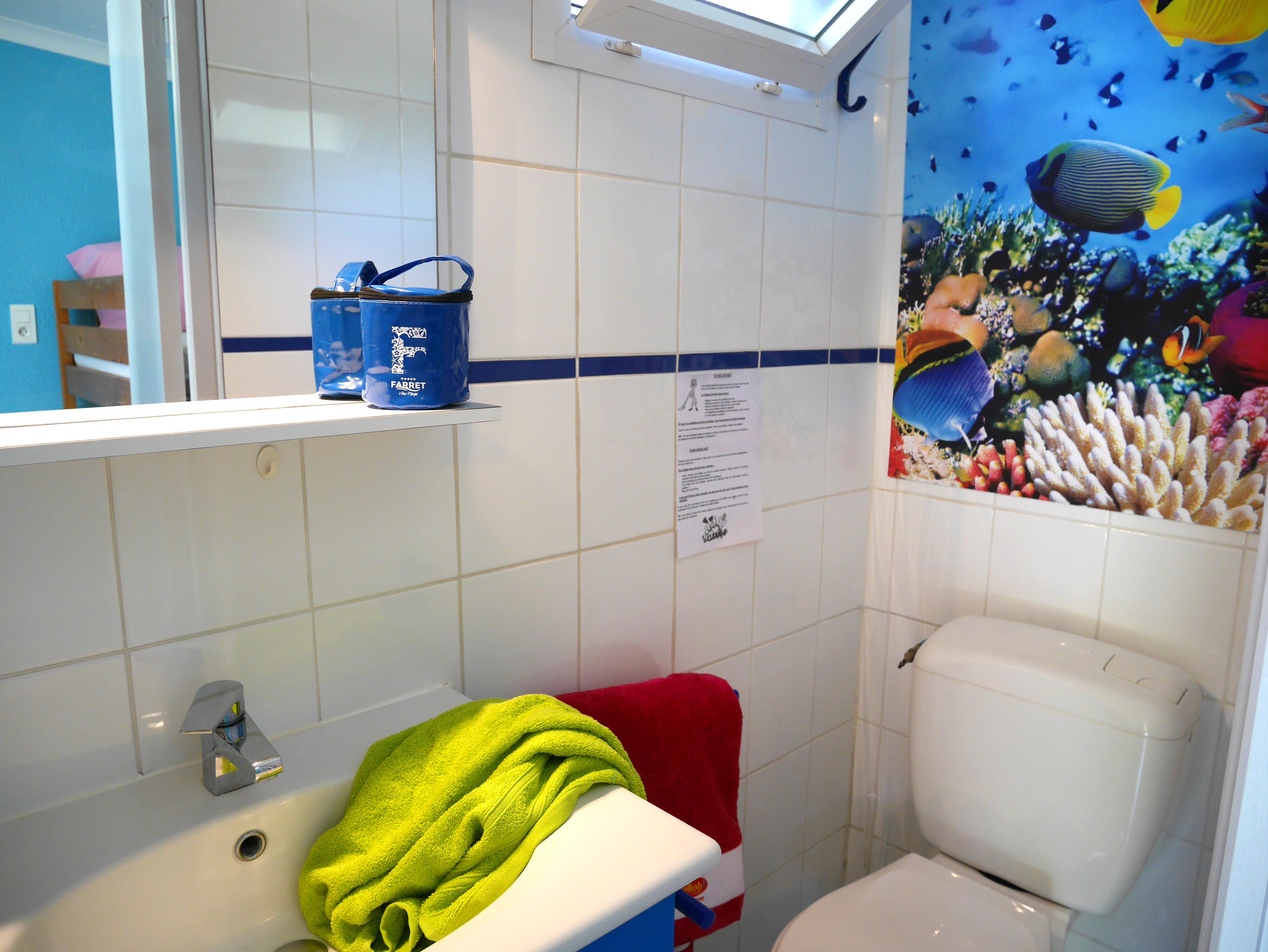 salle de douche décoration marine