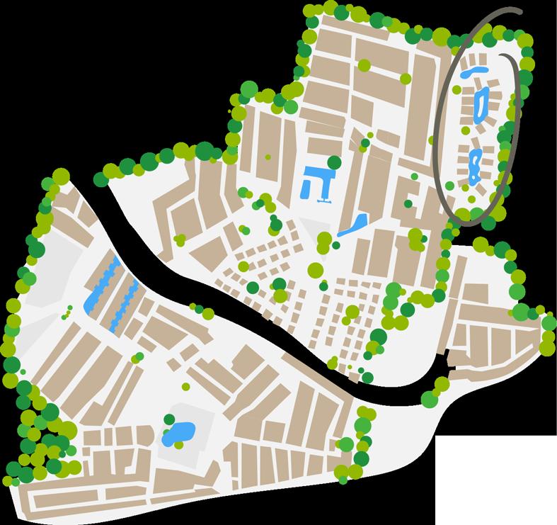 Plano del barrio pacific