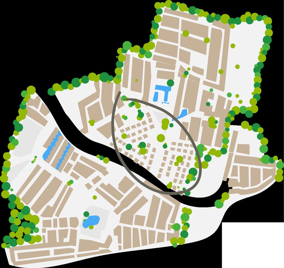 Plan Ferienhäuser Camping Farret